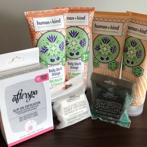 Human + Kind body wash and body souffle-new